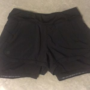 Athleta 2 in 1 shorts